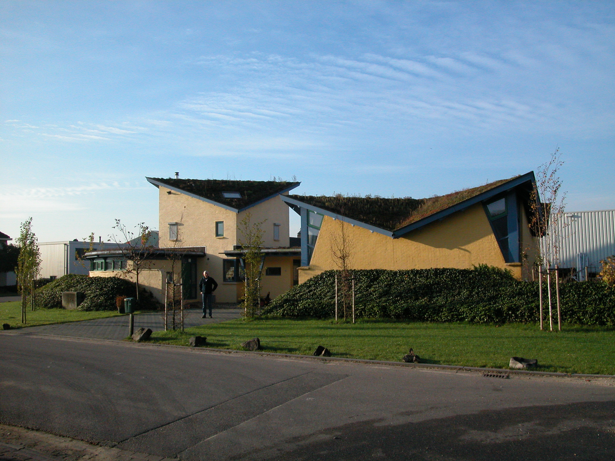 Woonhuis met werkplaats zelfbouwproject Lith