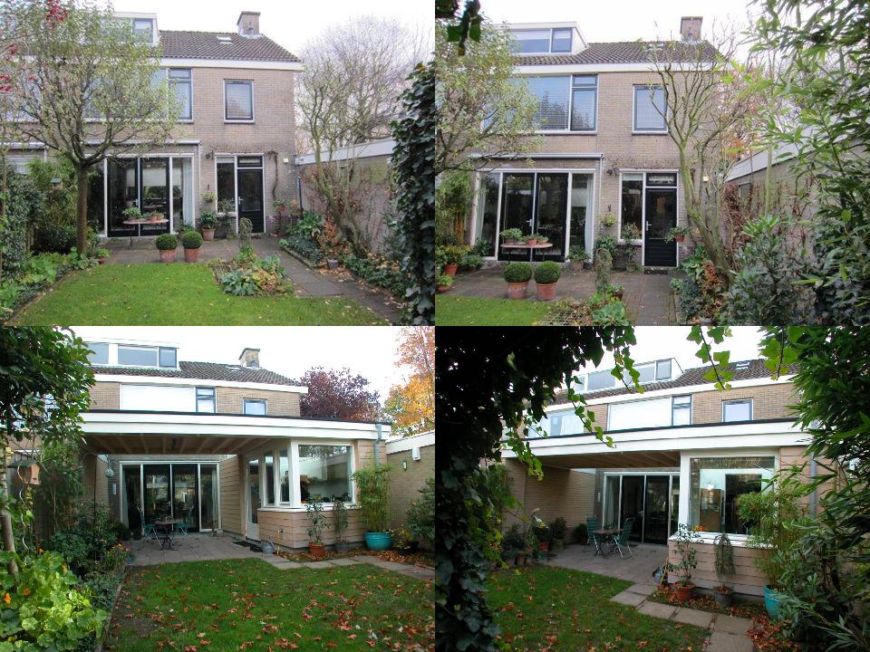 Renovatie woonhuis 1973 oud en nieuw