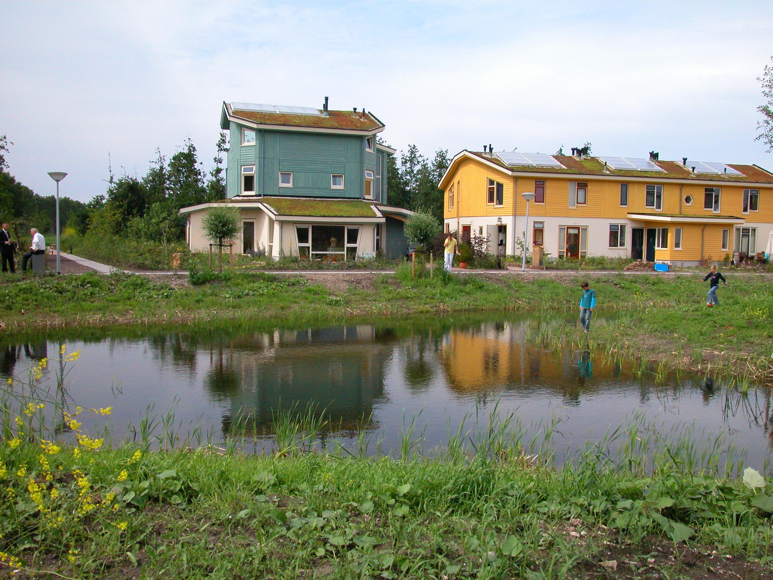 CPO collectief particulier opdrachtgeverschap De Buitenkans Almere 54 woningen