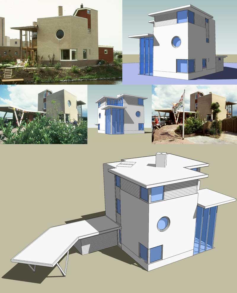 Opbouw extra 2e verdieping