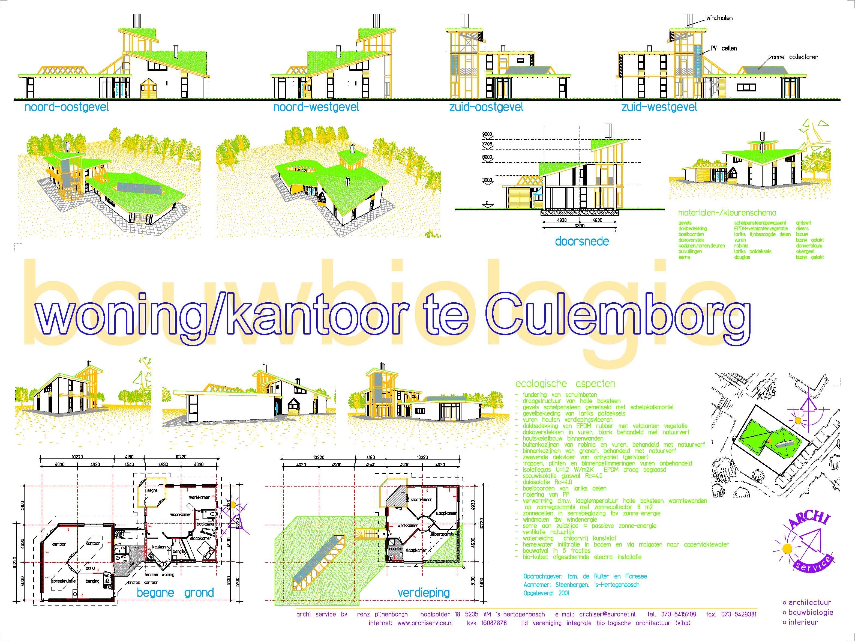 Woning met kantoor Culemborg